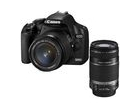 eos 500d + objectif ef-s 18-55 mm + objectif ef-s 55-250 mm